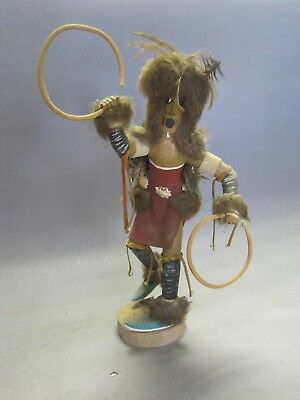 Vintage Kachina Hoop figure w Possible Signature from Older Collection