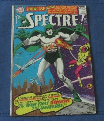 Showcase #60 The Spectre D.c. Comics 1967 First Silver Age Anderson Fox Nice!!!