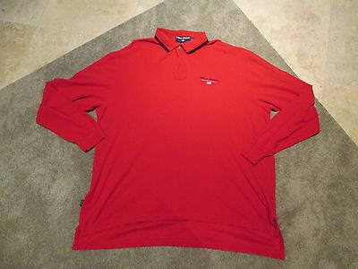 ad4103fbd VINTAGE RALPH LAUREN Polo Sport Long Sleeve Shirt Adult Extra Large Red XL  90s -  9.99
