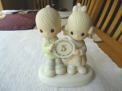 "Vintage 1983 Jonathan David "" GOD BLESSED OUR YEARS TOGETHER "" BEAUTIFUL PIECE """