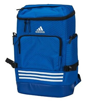 b7462dc13cef Adidas KOR OPS Backpack Bags Sports Blue Running Training Casual GYM Bag  CV4967