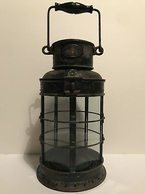 Antique ships lantern by Eli Griffiths and Sons