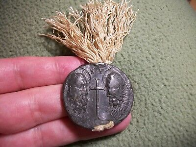 RARE Lead Papal Bulla/Seal of Pope Benedict XIV, Great Condition, 1740-58