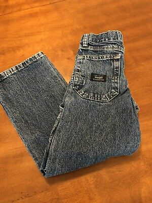 Boys Denim Wrangler Jeans Size 7 Slim