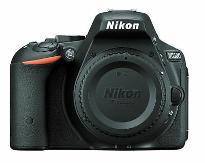 Refurbished, Looks Brand New Nikon D5500 24.2Mp Touchscreen Dslr Black Body Only