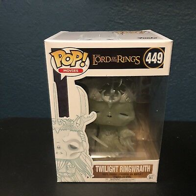 Lord Of The Rings Ringwraith Glow Funko Pop Hot Topic Exclusive Vinyl Figure