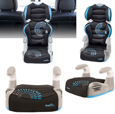 Evenflo 2-in-1 Big Kid High Back Booster Car Seat Chair Travel Toddler Safety.