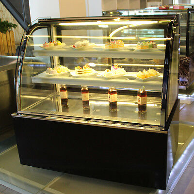 Refrigerated Bakery Showcase Pie Display Cabinet Commercial220V Cake DisplayCase