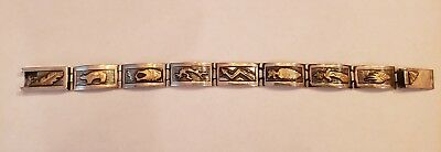 Very rare and unique piece Navajo bracelet