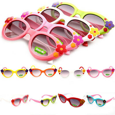 8 Colors Fashion Sunglasses Lovely Boys Children Baby ANTI-UV Girls Kids Glasses