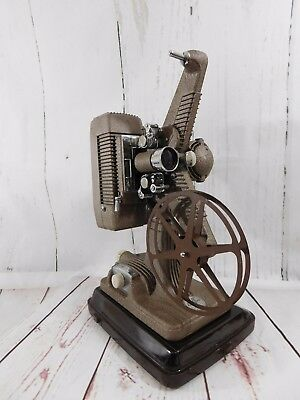 Vintage Projector  Model 48 16mm  With Hard Case and Manual  Silent Revere