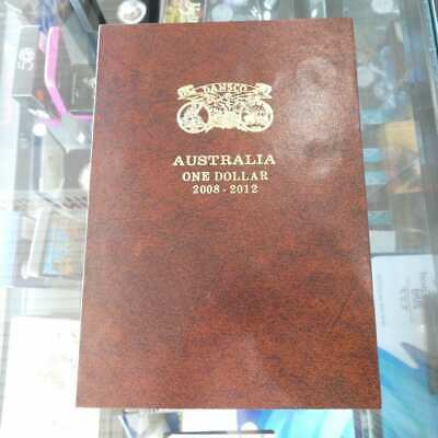Brand New! Dansco $1 One Dollar De-Luxe Push In Coin Album 2008 - 2012