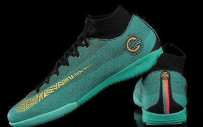 7cbc3107204 Nike Mercurial SuperflyX 6 Academy CR7 IC - Clear Jade   Gold   Black