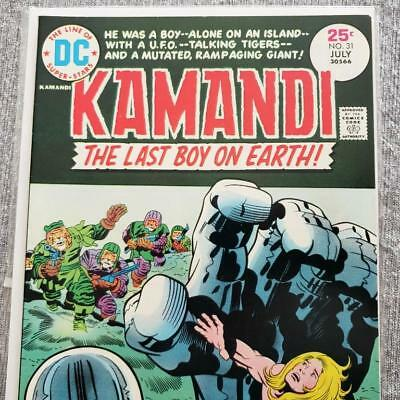 * KAMANDI The Last Boy of Earth 31 (NM+ 9.6) KIRBY ORIGINAL Owner Collection *
