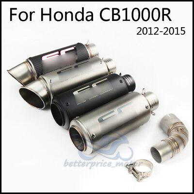 For Honda CB1000R Exhaust System Set Exhaust Muffler Pipe Connecting Link Pipe