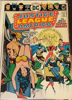 * Justice League of AMERICA 128 (NM+ 9.6) HAWKMAN ORIGINAL Owner Collection *