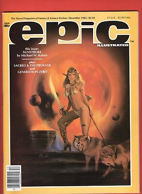 Epic Illustrated #21 - Charles Vess - Michael Kaluta! --  9.4  NM  cond.