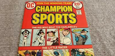 * CHAMPION Sports #1 (NM+ 9.6) 20c DC ORIGINAL Owner Collection *