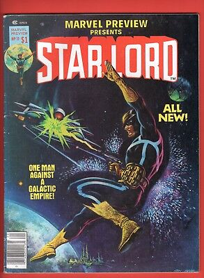Marvel Preview #11 -- Star-Lord! - GOTG - Claremont - Byrne  --  4.0  VG  cond.