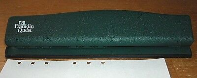 Franklin Covey Pocket Planner 6-hole Punch