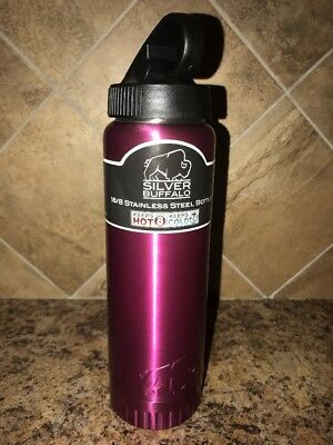 WATER BOTTLE RARE SUNCAST JACK NICKLAUS SIGNATURE 18//8 STAINLESS STEEL NEW