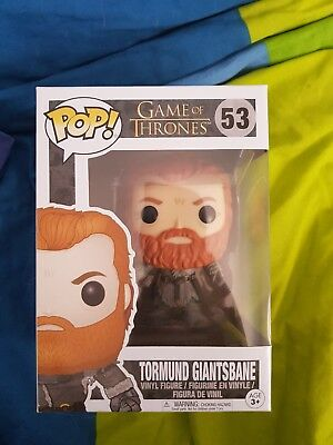 Funko pop game of thrones Tormud Giantsbane