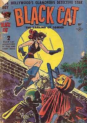 Black Cat Comics #14 Photocopy Comic Book