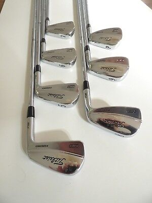 Titleist 716MB Irons (4-P) S300 - Excellent Condition, Free Postage # 1319