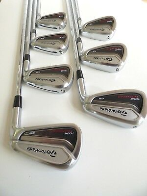 TaylorMade 2014 TP CB Irons (4-P) KBS Tour Stiff - V/Good Cond, Free Post # 1234