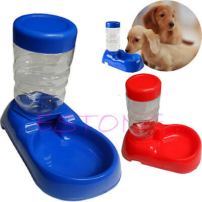 500mL Pet Cat Dog Bowl Automatic Bottle Water Drinking Dispenser Feeder Fountain
