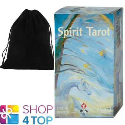 Spirit Tarot Deck Cards Kris Dorea Esoteric Fortune Telling Agm With Velvet Bag