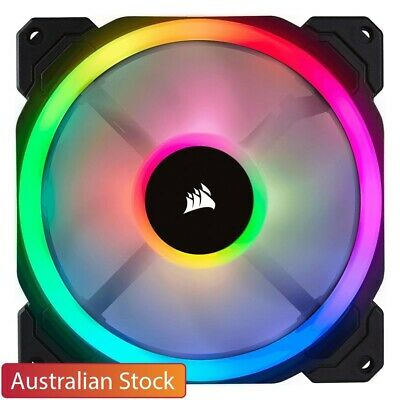 Corsair LL140 RGB 140mm Dual Light Loop 1300 RPM RGB LED PWM Computer Case Fan