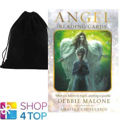 Angel Reading Cards Deck Debbie Malone Esoteric Us Games Systems With Velvet Bag