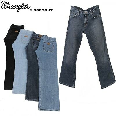 534997c8ff4 MENS NWT WRANGLER Retro Mid Rise Boot Cut Relaxed Jeans WRT20WB ...