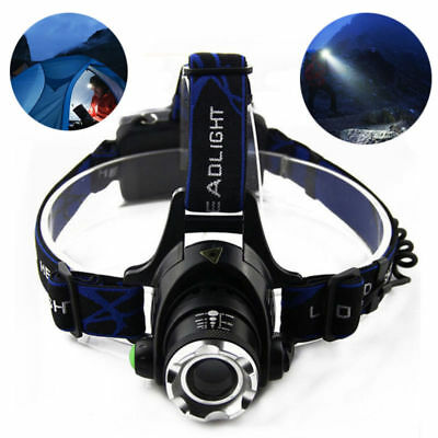 LED Headlamp Headlight Fishing Camping Hiking Head Lamp Light Torch Lantern