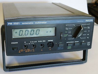 Philips PM 2521 Automatic Multimeter RMS