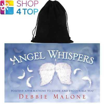 Angel Whispers Cards Deck Positive Affirmations Us Games Systems With Velvet Bag