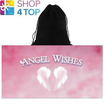 Angel Wishes Cards Deck Inspirational Guidance Us Games Systems With Velvet Bag