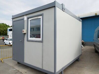 Site cabin site office storage cabin 3 x 3.6m modular building
