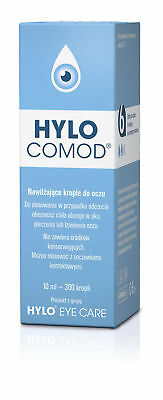 3x Hylo-Comod krople eye drops hydration of the eye (3x10) 30ml