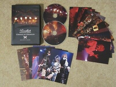 "VERSAILLES DVD ""Chateau De Versailles Live at CC Lemon Hall"" J-ROCK J-POP *RAR*"