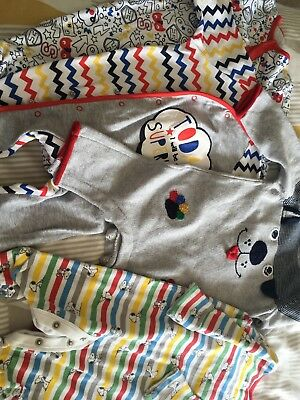 Bundle Baby Boy Grow sleepsuits Clothes 0-3 M