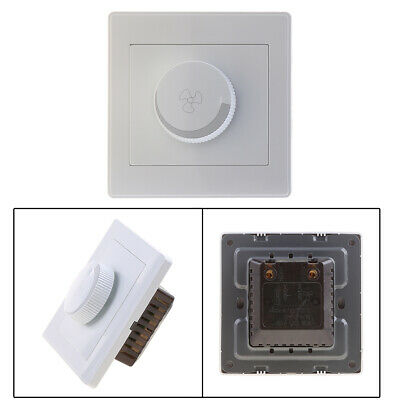 Adjustment Ceiling Fan Speed Control Switch Wall Button Dimmer Switch 220V 200W