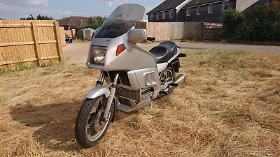 BMW K 100 RT 12 months MOT tourer with luggage k100