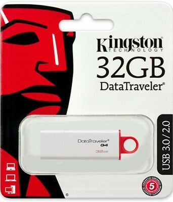Kingston 32Go DTI G4 USB 3.0 Lecteurs Flash stick clé USB Drive 32 Go