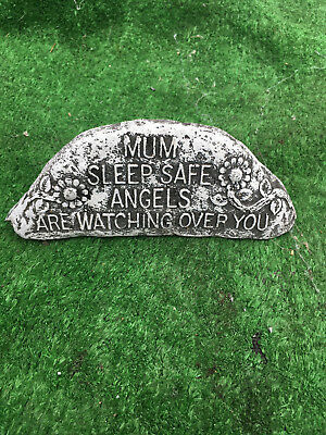 Fibreglass Case And Mould/ Rock Mould/ Mum Sleep Safe Angels Are Watching Over