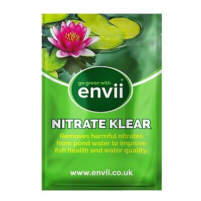 Envii Nitrate Klear – Natural Pond Nitrate Remover Safe For All Fish - 6 Tablets