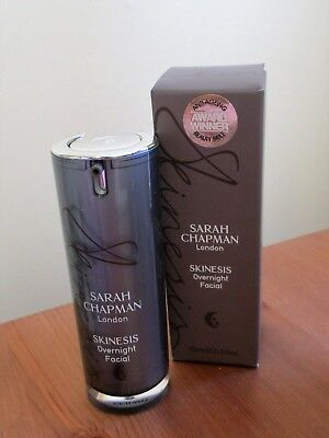 Sarah Chapman Skinesis Overnight Facial 15ml New in Box