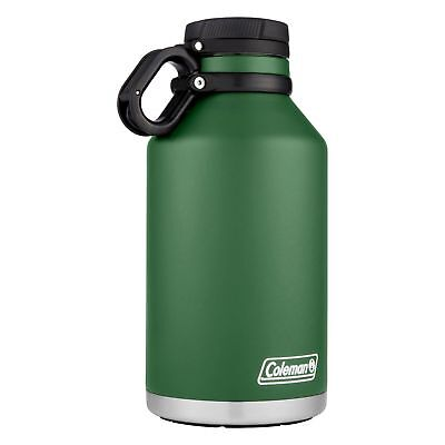 Coleman Stainless Steel Growler 64oz Heritage Green Vacuum Insulated Bottle