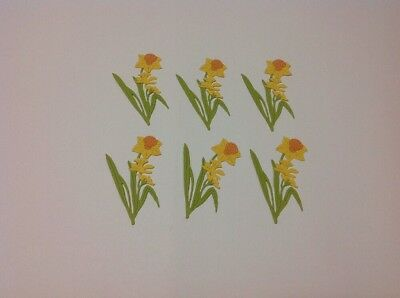 Die Cut Fully Assembled Gorgeous Daffodils